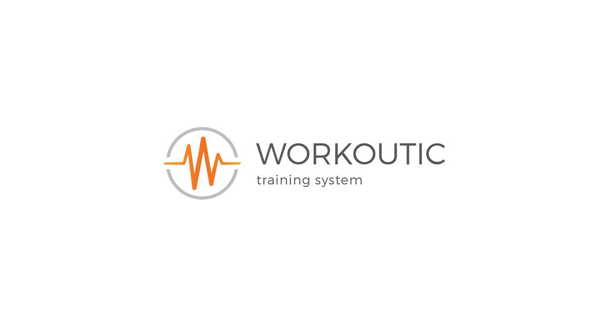 Workoutic Logo White Background