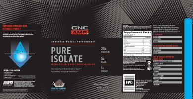 Pure Isolate by GNC Live Well