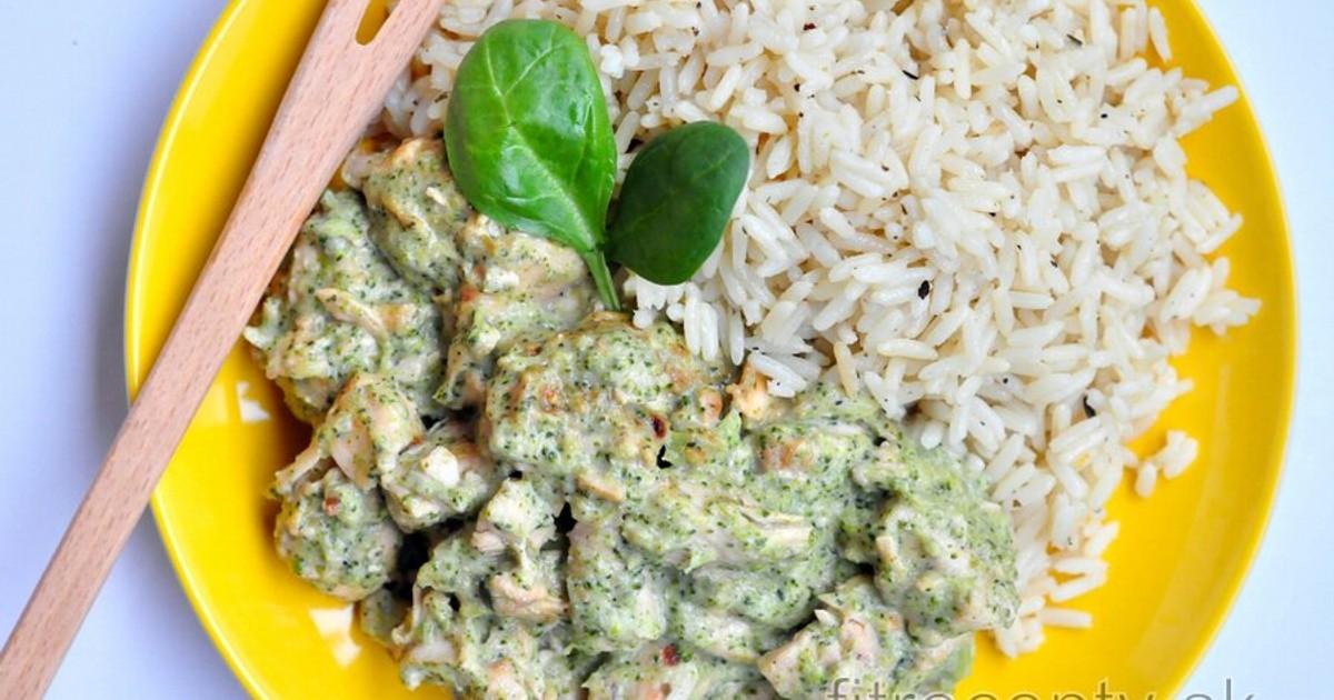 Kuracie soté s brokolicovo-nivovou omačkou- workoutic