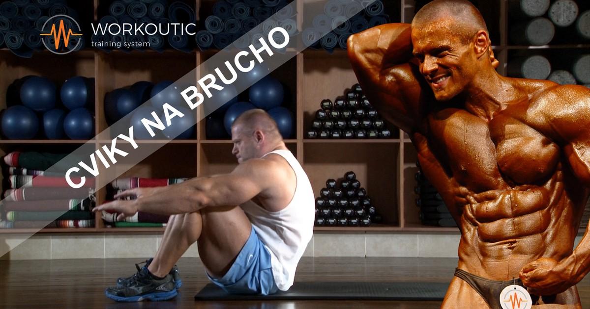 Cviky na Brucho - Workoutic - Lah Sed s Dopomocou Ruk
