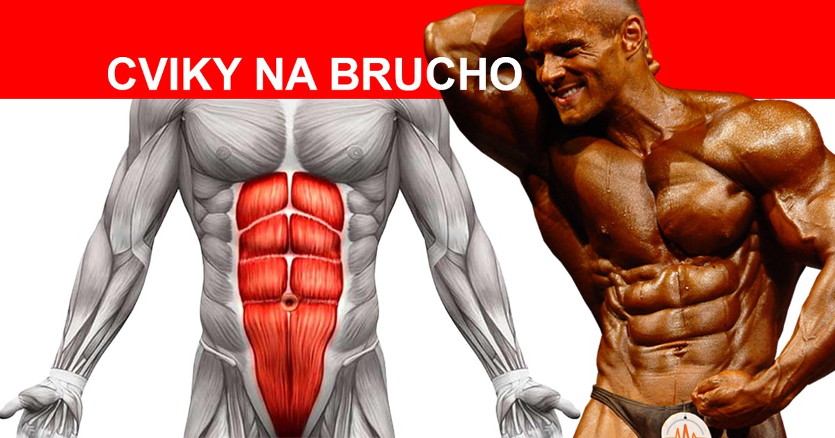Cviky na brucho - 6 pack - Abs exercises - Workoutic